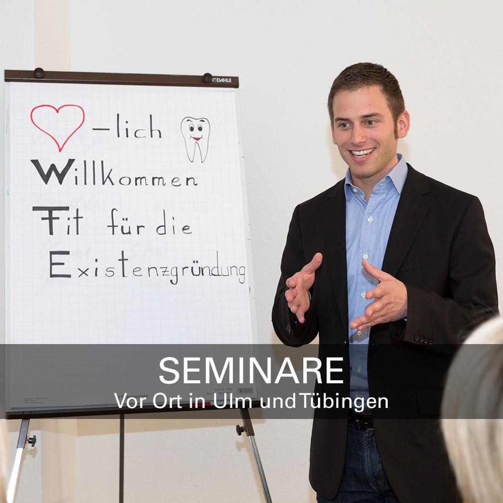 Seminar für Zahnärzte in Ulm und Tübingen